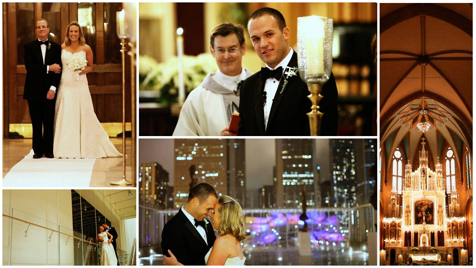 Holy Family Parish Art Institute of Chicago Modern Wing Wedding Video