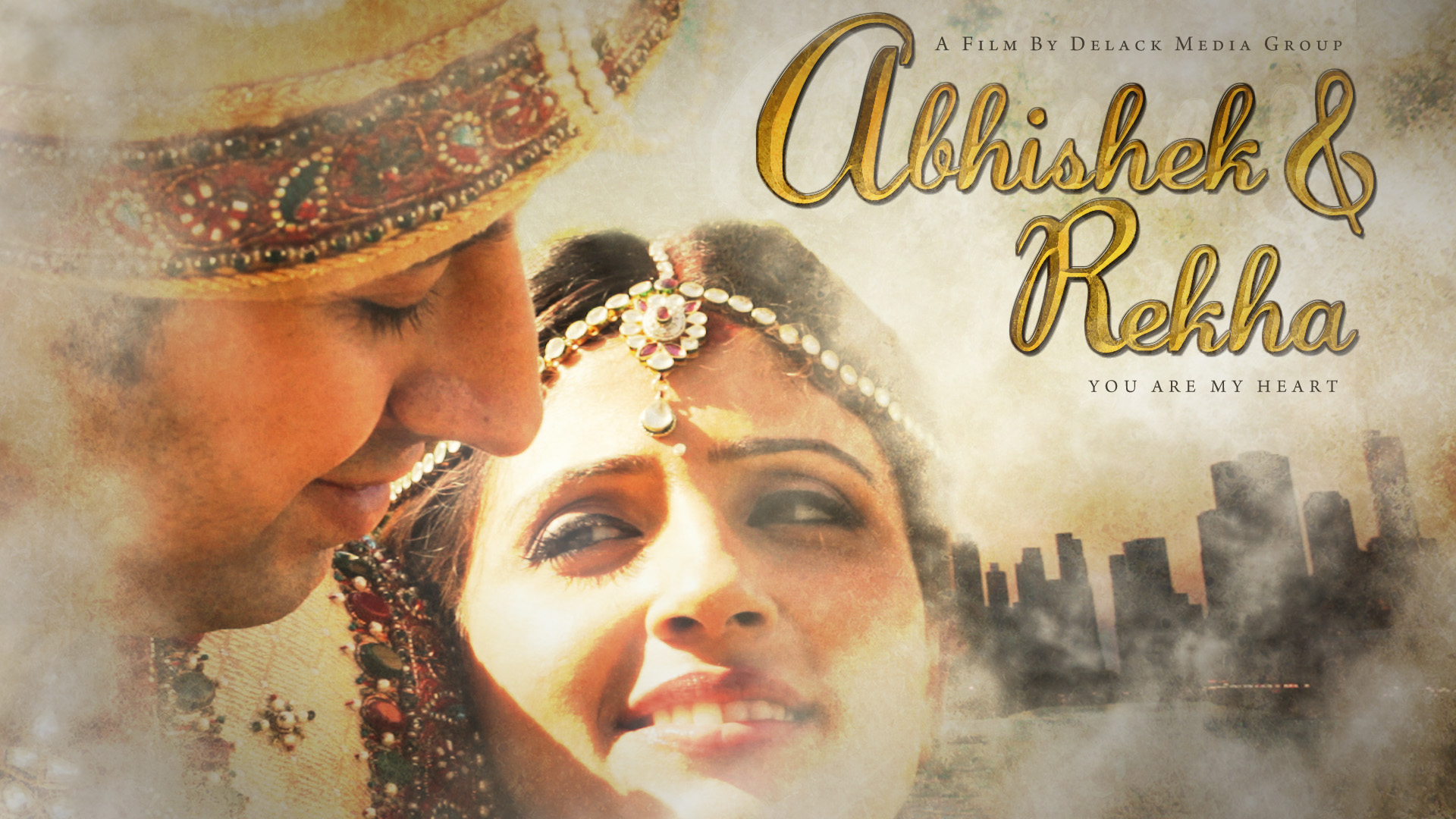 Abhishek Rekha Wedding Video Poster