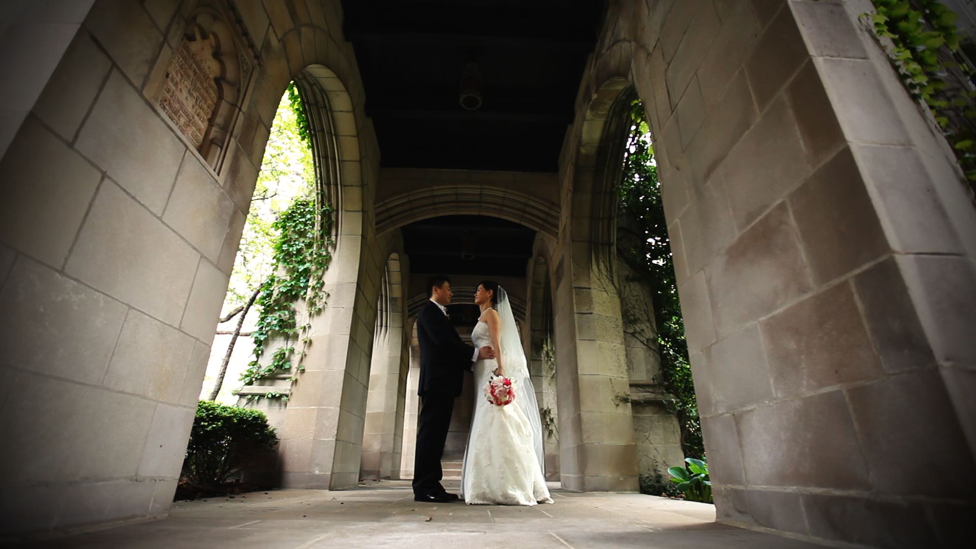 Fourth Presbyterian Chicago Wedding Garden