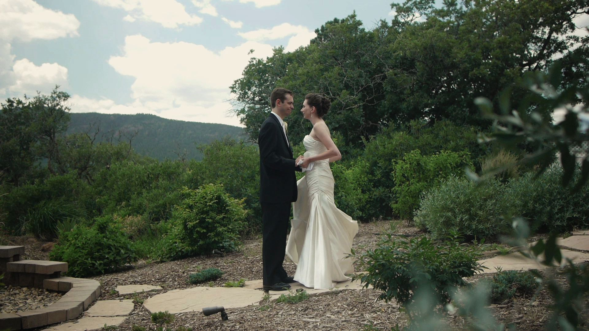Denver Colorado Springs Wedding Cinematography First Look