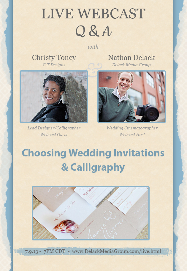 Christy Toney C-T Designs Wedding Stationery and Calligraphy