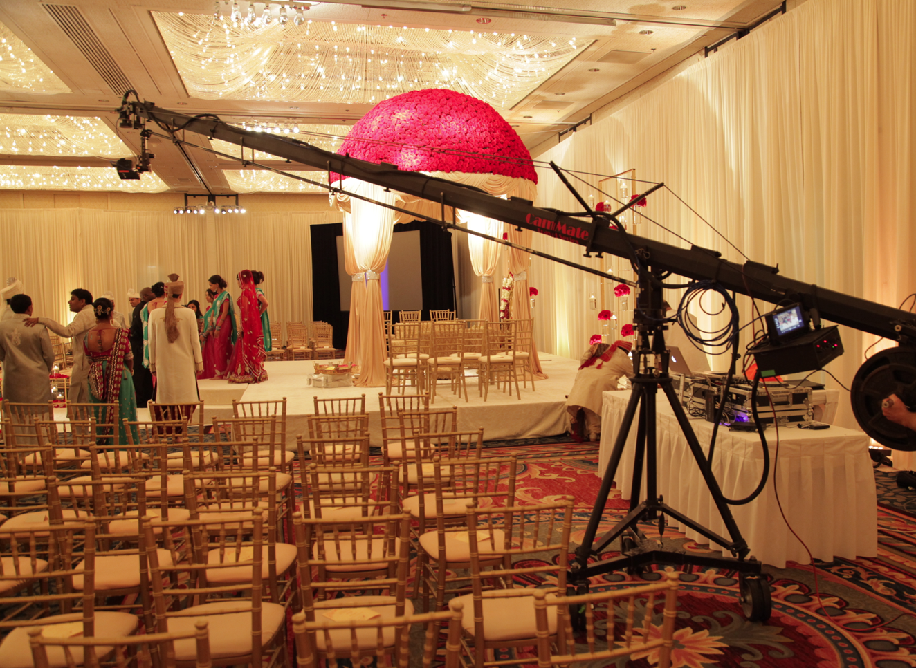 Chicago Wedding Jib