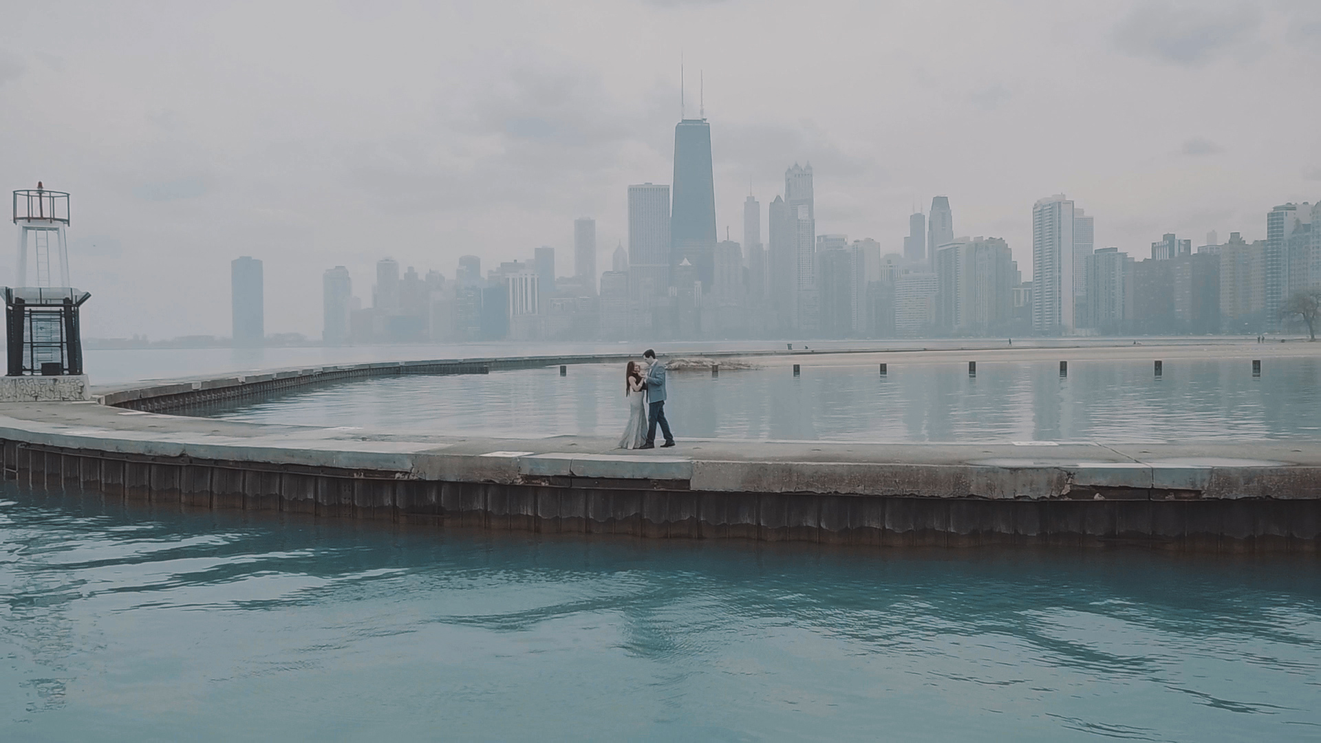 North Ave Beach Chicago Engagement Video