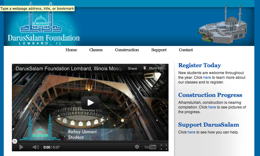 DarusSalam Foundation Web Video Lombard, Illinois