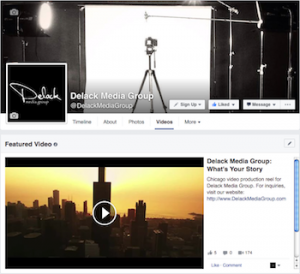 Facebook Featured Video Marketing