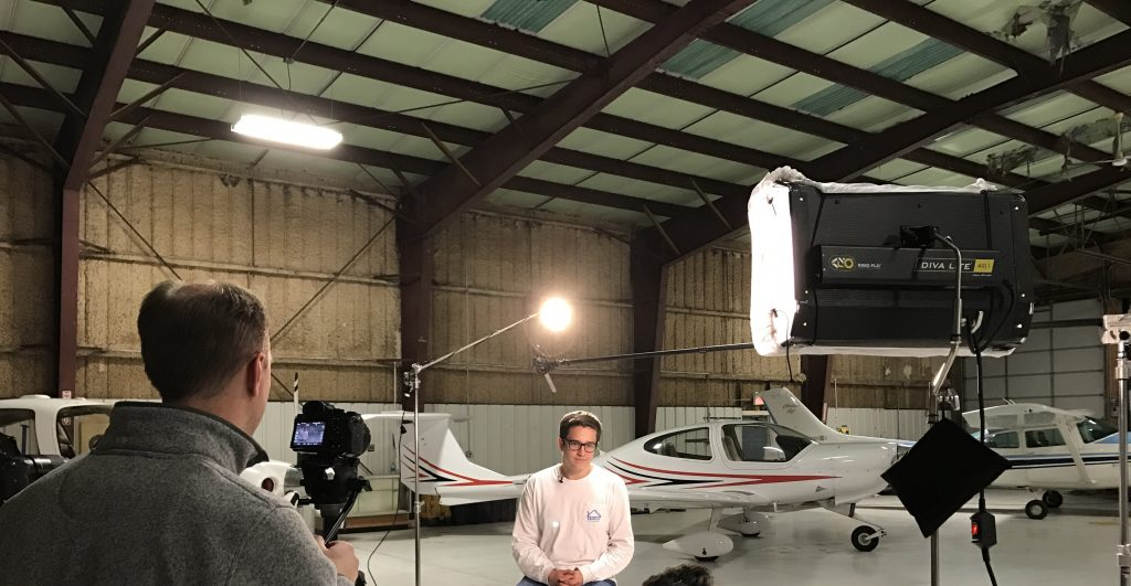 Waukegan Airport Video Production